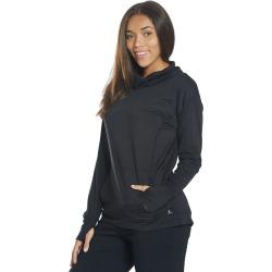 Danskin Women's Cowl Neck After Yoga Pullover - Black Salt Small Spandex Shirt Moisture Wicking