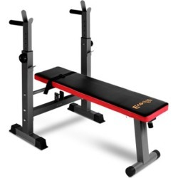 Multi Station Weight Bench Press Weights Equipment Home Gym Red