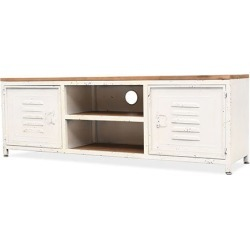 Tv Cabinet 120 X 30 X 40 Cm White found on Bargain Bro India from Simply Wholesale for $285.74