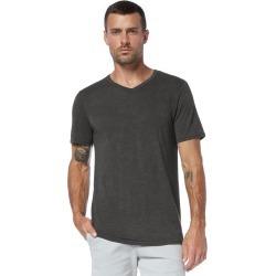 Michael Stars Mens Short Sleeve V-Neck Tshirt - Fatigue, Size XL