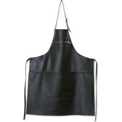 Dutchdeluxes Leather Zipper Apron in Classic Black found on Bargain Bro UK from Sous Chef
