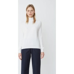 Aspesi Cotton High Neck Sweater White Size: IT 44 found on MODAPINS from la garconne for USD $288.00