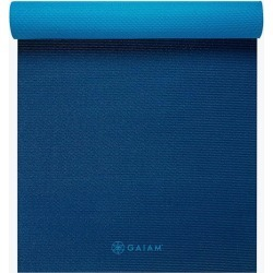 Premium 2-Color Yoga Mats (6mm) found on Bargain Bro India from Gaiam for $29.98