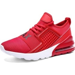 Costbuys  Running shoes training for men sneakers sports shoes Outdoor fitness jogging Increased bottom - 7059-Red / 9.5