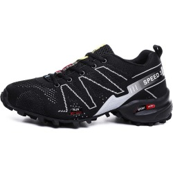 Costbuys  Waterproof Hiking Shoes For Men Suede Mountain Climbing Shoes Quality Outdoor Trekking Shoes Breathable Hiking Hunting