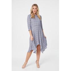 Geo Hanky Hem Dress found on Bargain Bro UK from Izabel London UK