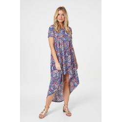 Paisley Print Smock Dress found on Bargain Bro UK from Izabel London UK