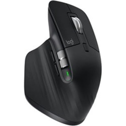 Logitech Mx Master 3S Wireless Mouse Unifying Receiver Bluetooth Black