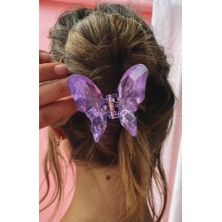 Eclat Baby Love Butterfly Hair Clip Purple - ONE SIZE found on Bargain Bro India from beginning boutique for $7.16