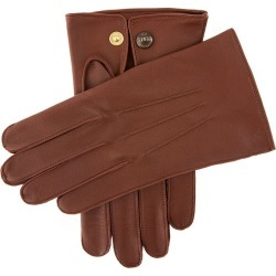 Dents Men's Unlined Leather Officers Gloves In English Tan Size 10 found on Bargain Bro UK from Dents