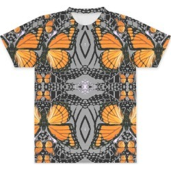 Unisex Tee - Front Print - Monarch Butterflies Art by VIDA Original Artist found on Bargain Bro Philippines from SHOPVIDA for $60.00