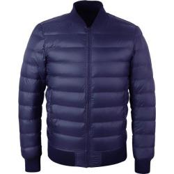 Costbuys  Duck Down Jacket Men Winter Warm Coat Men's Stand Collar - Dark Blue / M