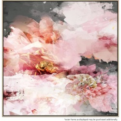 Petalia Blooms Canvas Print With Floating Frame