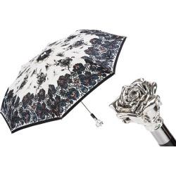 Silver Rose Luxury Folding Umbrella found on Bargain Bro UK from black.co.uk