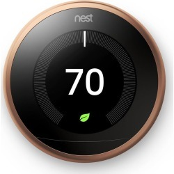 Nest Learning Thermostat, 3rd Generation, Copper