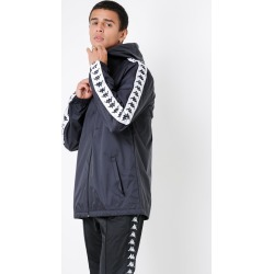 Kappa - Banda Dawson Jacket in Black & White found on MODAPINS from glue store for USD $36.46