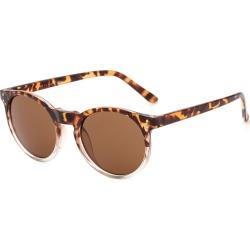 Costbuys  Round Sunglasses Retro Women Ladies Vintage Sunglasses Male Fashion for Travel Brand Designer JH9003 - Brown