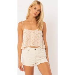 Amuse Society Blissed Out Woven Cami - Women's found on MODAPINS from The Last Hunt for USD $23.13