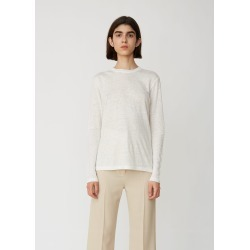 Acne Studios Taline Long Sleeve Linen Tee Off White Size: Small found on MODAPINS from la garconne for USD $180.00