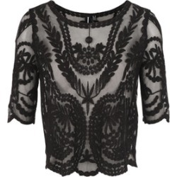 Embroidered Mesh Top found on Bargain Bro UK from Izabel London UK