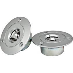 Costbuys  2PC 3Inch Tweeter HIFI 8Ohm 20W Audio Speaker Accessories Anti-magnetic Titanium Film Car Tweeter DIY