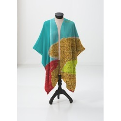 Sheer Wrap - watercolor prism by VIDA found on Bargain Bro India from SHOPVIDA for $135.00