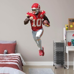 """Tyreek Hill for Kansas City Chiefs - Officially Licensed NFL Removable Wall Decal Life-Size Athlete + 2 Decals (38""""W x 76""""H) by"""