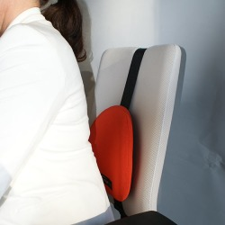 Humantool Pilot Spot Backrest Gray found on Bargain Bro India from Relax The Back for $119.00