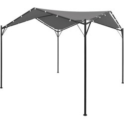 Gazebo 4X4 M Oxford Roof With Pa Coating Anthracite