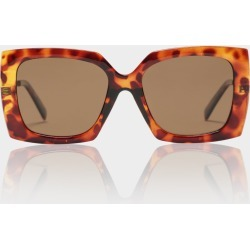 Le Specs - Discomania Alt Fit Sunglasses in Tortoise Shell found on MODAPINS from glue store for USD $63.40