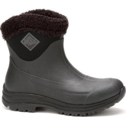 Women's Arctic Apres Slip On Boot in Black/Charcoal | 5 | The Original Muck Boot Company