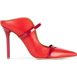 Maureen Red Leather Mules: Women's Designer Shoes Malone Souliers, 36 / Red found on Bargain Bro UK from Malone Souliers