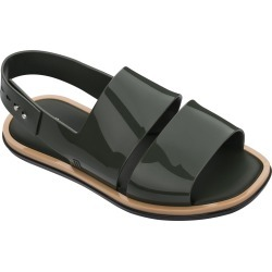 Melissa Carbon Sandal - Green / 8 found on MODAPINS from Trina Turk - Dynamic for USD $85.00