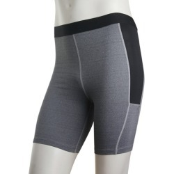 Costbuys  Nice Vogue Men Compression Base Layer Tights Skin Sport Wear Fitness Shorts - Gray / M