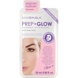 Skin Republic Prep + Glow Olivia Buckland Face Sheet Mask found on Makeup Collection from Face the Future for GBP 4.86