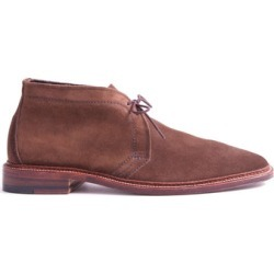 Alden Unlined Suede Chukka Boot In Dark Brown found on MODAPINS from Todd Snyder for USD $563.00