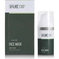 UNLIKE Face Mask (2.5%, 750mg CBD) 30ml found on Makeup Collection from Face the Future for GBP 57.33