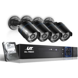 Cctv 2Tb 8Ch Dvr 1080P 4 Camera Sets found on Bargain Bro India from Simply Wholesale for $277.79