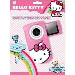 Hello Kitty Digital Video Camera with Flip-Out Display
