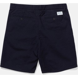 Norse Projects Aros Seersucker Shorts - Dark Navy Blue found on Bargain Bro UK from URBAN EXCESS LTD: UrbanExcess.com / Article-London.com