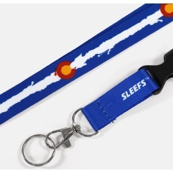 Colorado Flag Lanyard