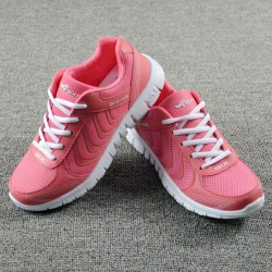 Costbuys  Women shoes light breathable mesh shoes woman casual shoes women sneakers - Rose / 9 / China found on MODAPINS from cost buys for USD $96.99