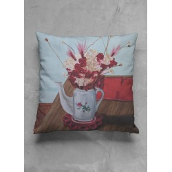 Accent Pillow - Matte Square - Talbot Still Life Pillow by VIDA found on Bargain Bro India from SHOPVIDA for $30.00
