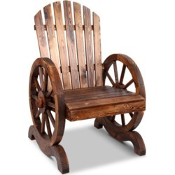 Gardeon Wooden Wagon Chair Outdoor found on Bargain Bro Philippines from Simply Wholesale for $125.19