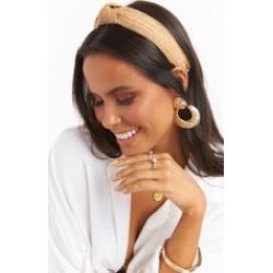 Delta Rattan Headband ~ Natural