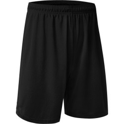 Costbuys  Men Sport Quick-dry Shorts Running Fitness Basketball Loose Gym Yoga Workout Short Pant - Black / XL