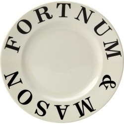 Fortnum and Mason Ecru 20cm Plate Seconds found on Bargain Bro UK from Burleigh