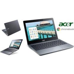 "Acer Chromebook 11.6"" HD Display, Intel Processor, 2GB RAM, 16GB SSD Drive, Google Chrome OS"