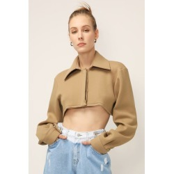 ISLA SUPER CROPPED SHIRT found on Bargain Bro India from jae. co., ltd for $105.00