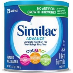 Infant Formula Advance - Case of 6 X 12.4 Oz by Abbott Nutrition